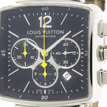 Louis Vuitton Polished Louis Vuitton Speedy Chronograph Steel...