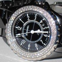 Chanel J12 Black Ceramic Diamonds