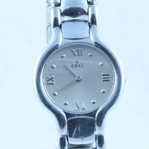 Ebel Beluga Damen Uhr Quartz Stahl/stahl Medium 28mm Original...
