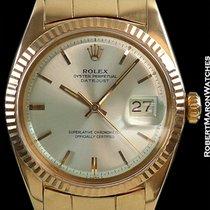 Rolex 1601 18k Rose Gold Datejust Serpico Y Laino