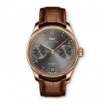 IWC Portugieser Automatic 7 Day Power Reserve Ardoise Dial...