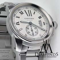 Cartier Calibre De Cartier Silver Dial Stainless Steel...