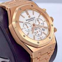 Audemars Piguet Royal Oak 41mm Chrono 18k Rose Gold B&p...