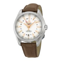Omega Seamaster Aqua Terra GMT Silver Dial Mens Watch 23113432...