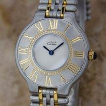 Cartier 21 Must De Cartier21 Lady Stainless Steel Quartz Dress...