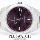 Rolex OYSTER PERPETUAL 39 mm Red Grape 114300 NEW