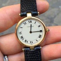 Cartier Vendome must oro gold quarzo 30 mm