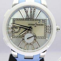 Ulysse Nardin Executive GMT Dual Time Lady Steel - 243-10