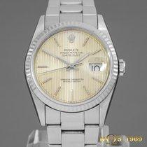 Rolex Datejust 16234 White Gold Bezel 36mm  Men's BOX