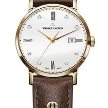 Maurice Lacroix Eliros Date Ladies Gold Case, White Dial,...