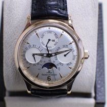 Jaeger-LeCoultre 18K Rose Gold Watch Master Perpetual Moon Phase