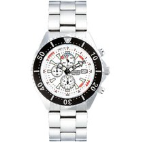Chris Benz Uhr Taucheruhr Depthmeter Chronograph CB-C300-W-MB