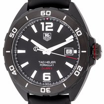 TAG Heuer - Formula 1 'Full Black' 41mm : WAZ2115.FT8023