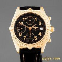 Breitling Chronomat Chronograph VITESSE K13050.1 18K GOLD...