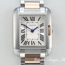 Cartier TANK ANGLAISE EDELSTAHL ROSEGOLD 750 W5310036