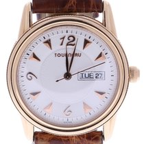 Tourneau Men's 38 Millimeters Beige Dial Wrist Watch