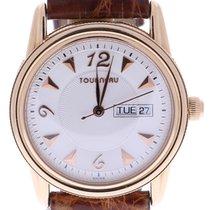 Tourneau Men's 38 Millimeters Beige Dial Wrist Watch