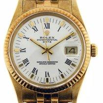 Rolex Vintage Rolex Date Quickset 14k Yellow Gold Jubilee...