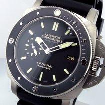 Panerai Unworn  Pam 389 Luminor Submersible 47 Mm Titanium...