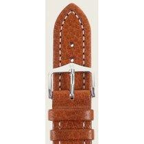 Hirsch Uhrenarmband Leder Buffalo goldbraun M 11350275-2-20 20mm