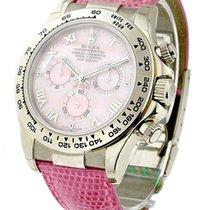 Rolex Used 116519_used_beach_pink White Gold Daytona - Beach...