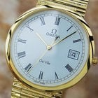 Omega Deville Swiss Made Mens Luxury Dress Watch On Silver...