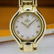 Ebel Ladies Beluga MOP Dial 18K Yellow Gold