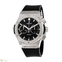 Hublot Classic Fusion Black Rubber Titanium Men's Watch