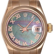 Rolex Ladies President 18k Rose Gold Watch Mother of Pearl...