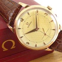 Omega 18ct Rose Gold Large case Mechanical 266 Manual Vintage...