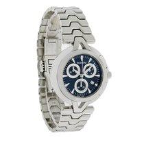 Valentino V-Valentino Mens Black Dial Swiss Chronograph Watch...