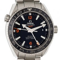 Omega Seamaster Planet Ocean 600m Co-Axial GMT Stahl Automatik...