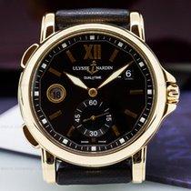 Ulysse Nardin 246-55/32 GMT Big Date Black Dial 18K Rose Gold...