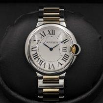 Cartier Ballon Bleu - 36mm - Two Tone - Silver Dial - MINT...