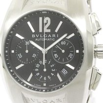 Bulgari Polished  Ergon Chronograph Steel Automatic Mens Watch...