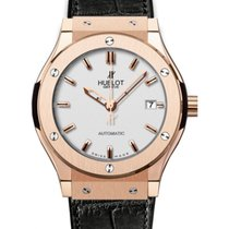 Hublot Classic Fusion 511.OX.2610.LR Silver Index Rose Gold...
