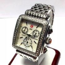 Michele Deco Mens/unisex Ss & Ceramic Watch Factory...