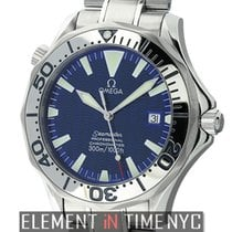 Omega Seamaster 300 M Chronometer Steel Electric Blue Dial...