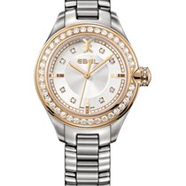 Ebel Onde Lady 30mm Ref.1216097, Diamantbes. 0,89ct