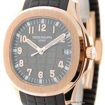 Patek Philippe Mens Aquanaut 5167 18k Rose Gold Automatic...