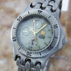 Elgin Usa Solar Drive Mens Rare Titanium Quartz Mens Watch...