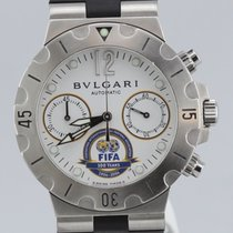 Bulgari Diagono Scuba FIFA Limited Edition, Stainless Steel,...