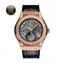 Hublot - CLASSIC FUSION AEROFUSION MOONPHASE KING GOLD NEW