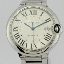 Cartier Ballon Bleu Large 42mm Date Full Steel Automatic 3001