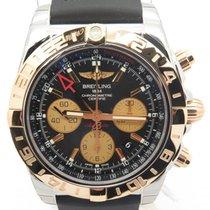 百年靈 (Breitling) Cb042012 Chronomat 44 Gmt 18k Rose Gold...