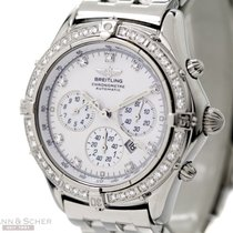 Breitling Chronometer Lady Ref-A35312-235D Stainless Steel...