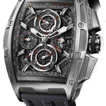 Cvstos Chrono II Challenge GT Men's Watch, Steel, Black...