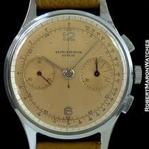 Baume & Mercier Vintage Salmon Dial Column Wheel Chronogra...