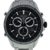 Seiko Astron Gps Solar Quartz Chronograph Stainless Steel On...