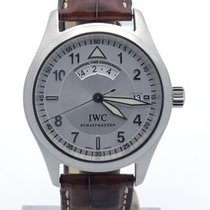 IWC Pilots Utc Iw3251-07 Spitfire Dial On Brown Alligator Strap